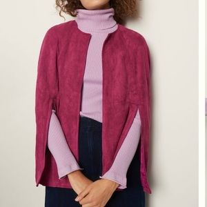 NWTO Anthropologie Yareli Sueded Capelet